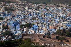 Jodphur, Rajasthan, For Brahmins blue is the symbol of purity